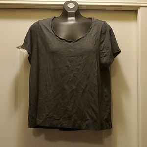 Old Navy - FREE W PURCHASE Charcoal Grey Top XL